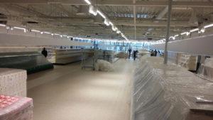 """Супермаркет """"ДА!"""" - Уборка после строительства и ремонта"""