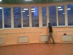 Мойка окон офисного помещения